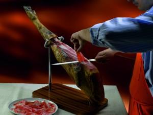 Cómo cortar jamón de Jabugo