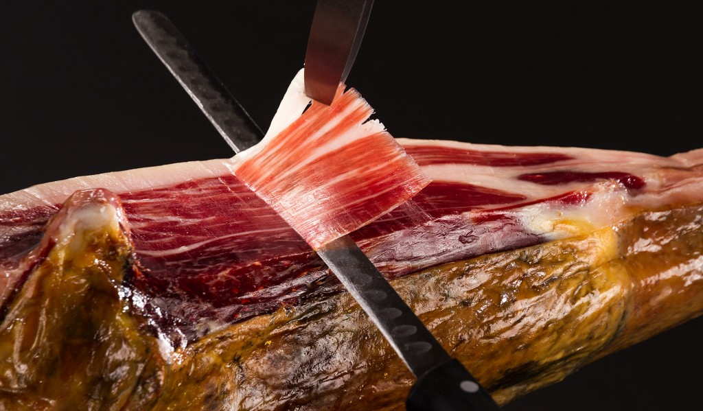 corte jamón maximiliano jabugo